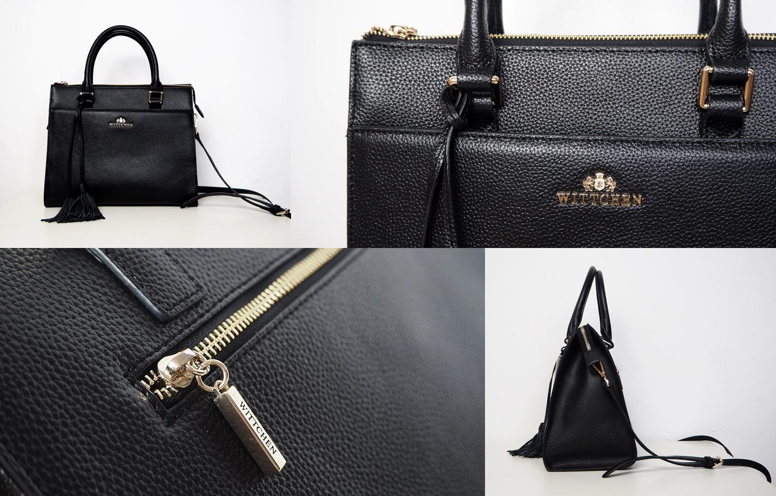 klasyczny czarny kuferek