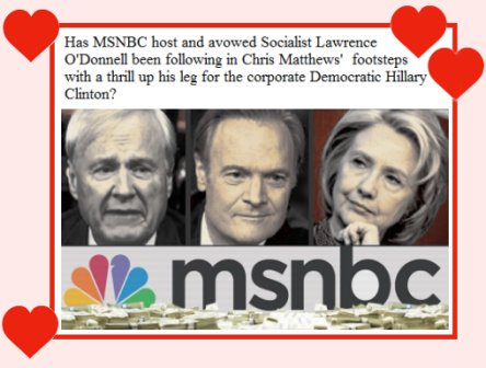 Media lovefest for Hillary Clinton