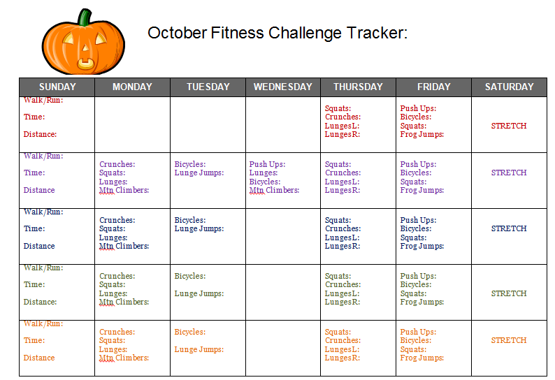 group fitness challenge tracker
