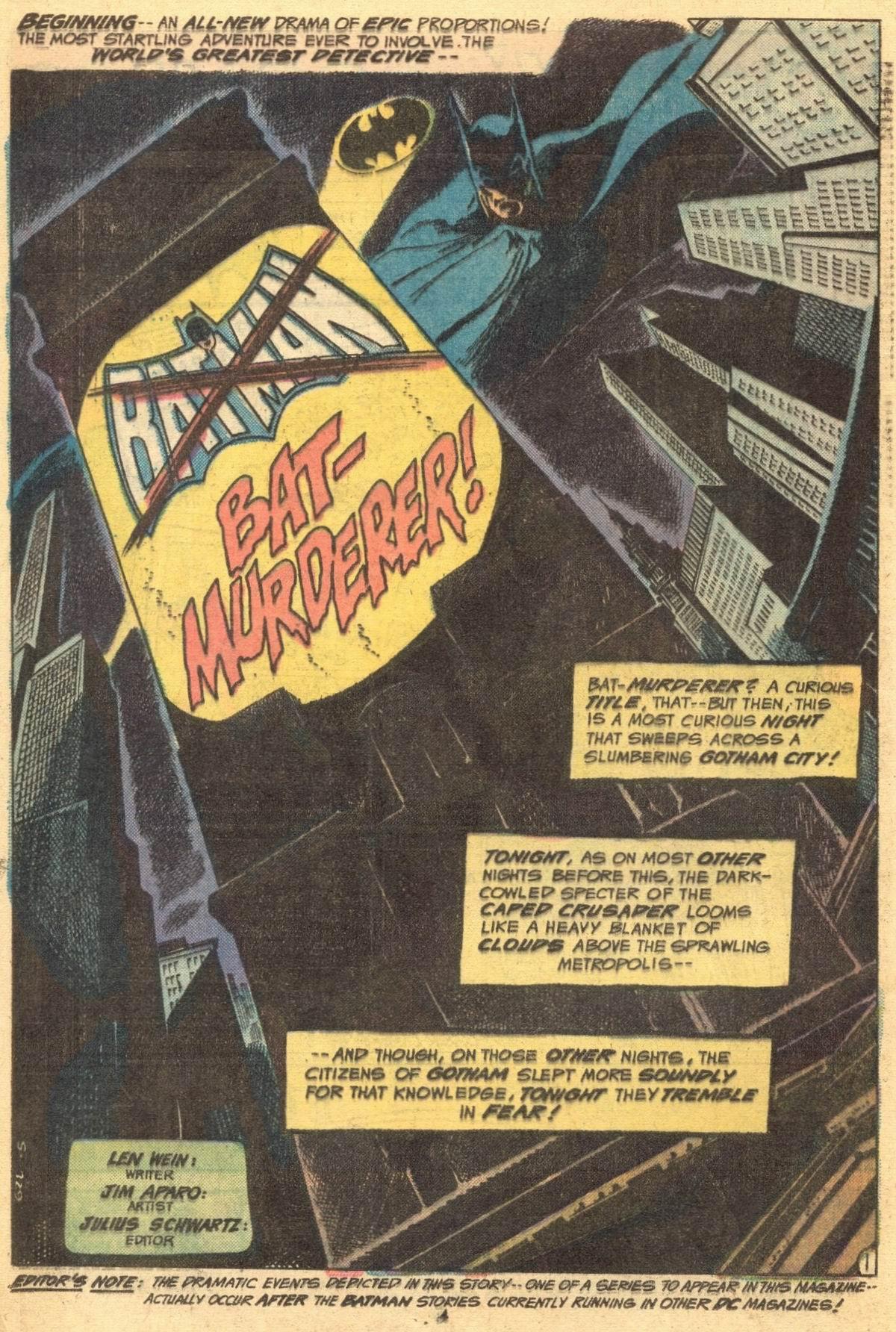 Detective Comics (1937) 444 Page 3