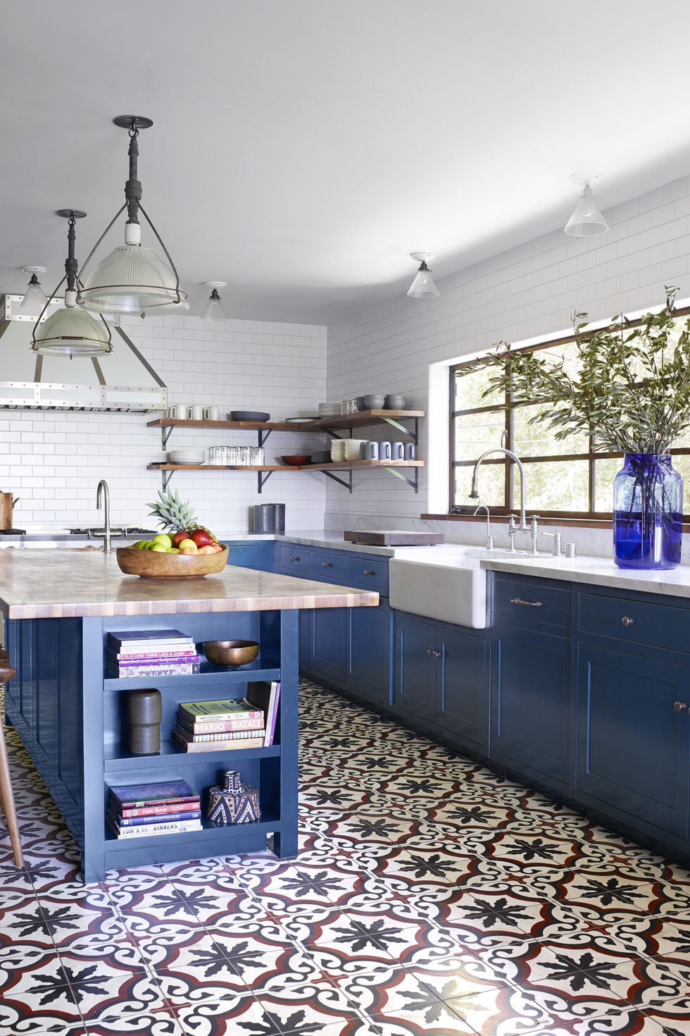 Blue Kitchen Theme Ideas For Decoration Luvne Com