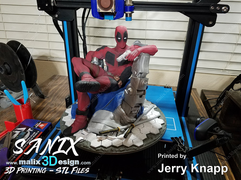 Deadpool Stl Files For 3d Printing