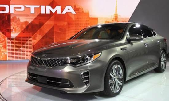 2018 Kia Optima Redesign