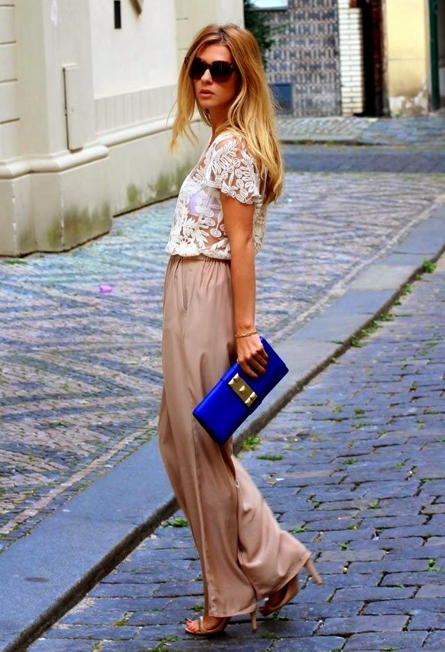 Wearing a Zara Pants with Sheinside Shirt - Summer Trend