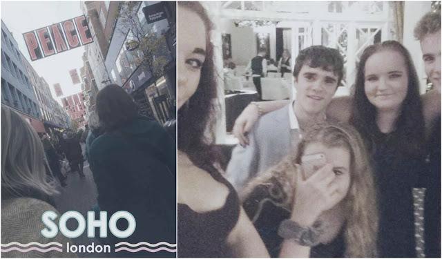 soho and Xmas party