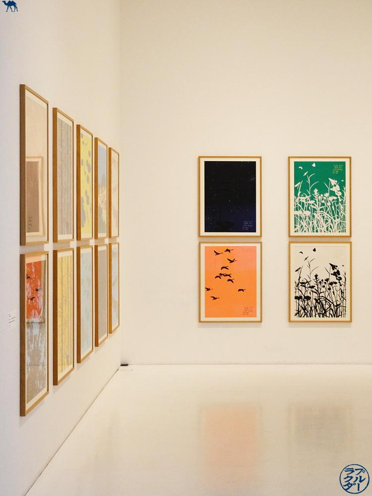 Le Chameau Bleu - Salle du Aomori Museum of Art - Tohoku Voyage au Japon