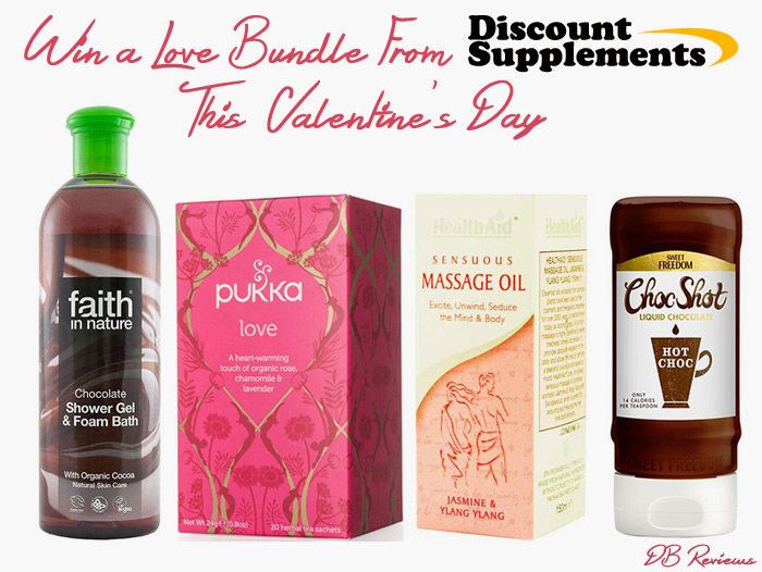 Win a Valentines Day Love Bundle with Discount Supplements