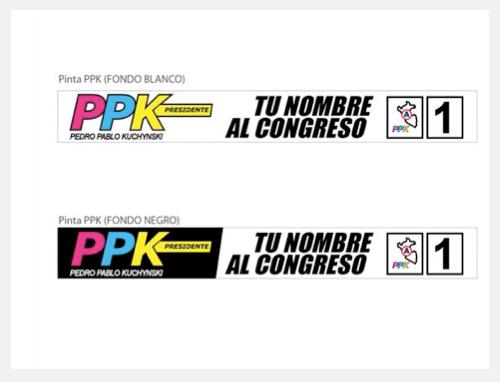 Alfabeto Visual: Mal uso de la marca del partido político PPK