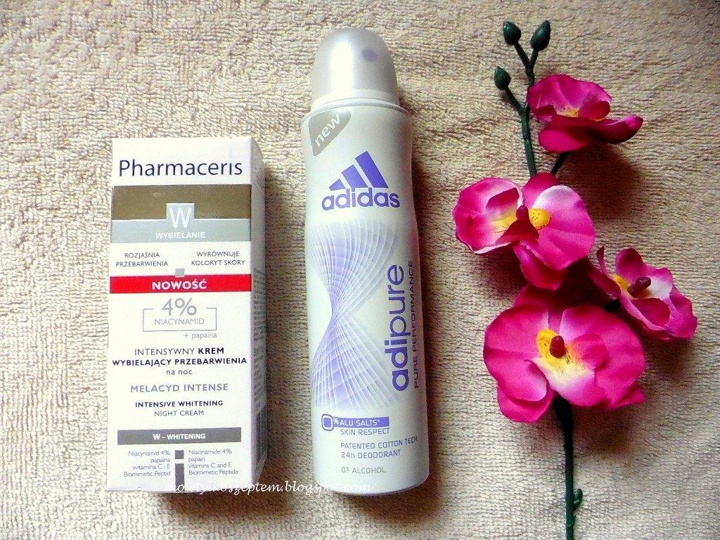 pharmaceris-krem-na-przebarwienia, antyperspirant-adidas