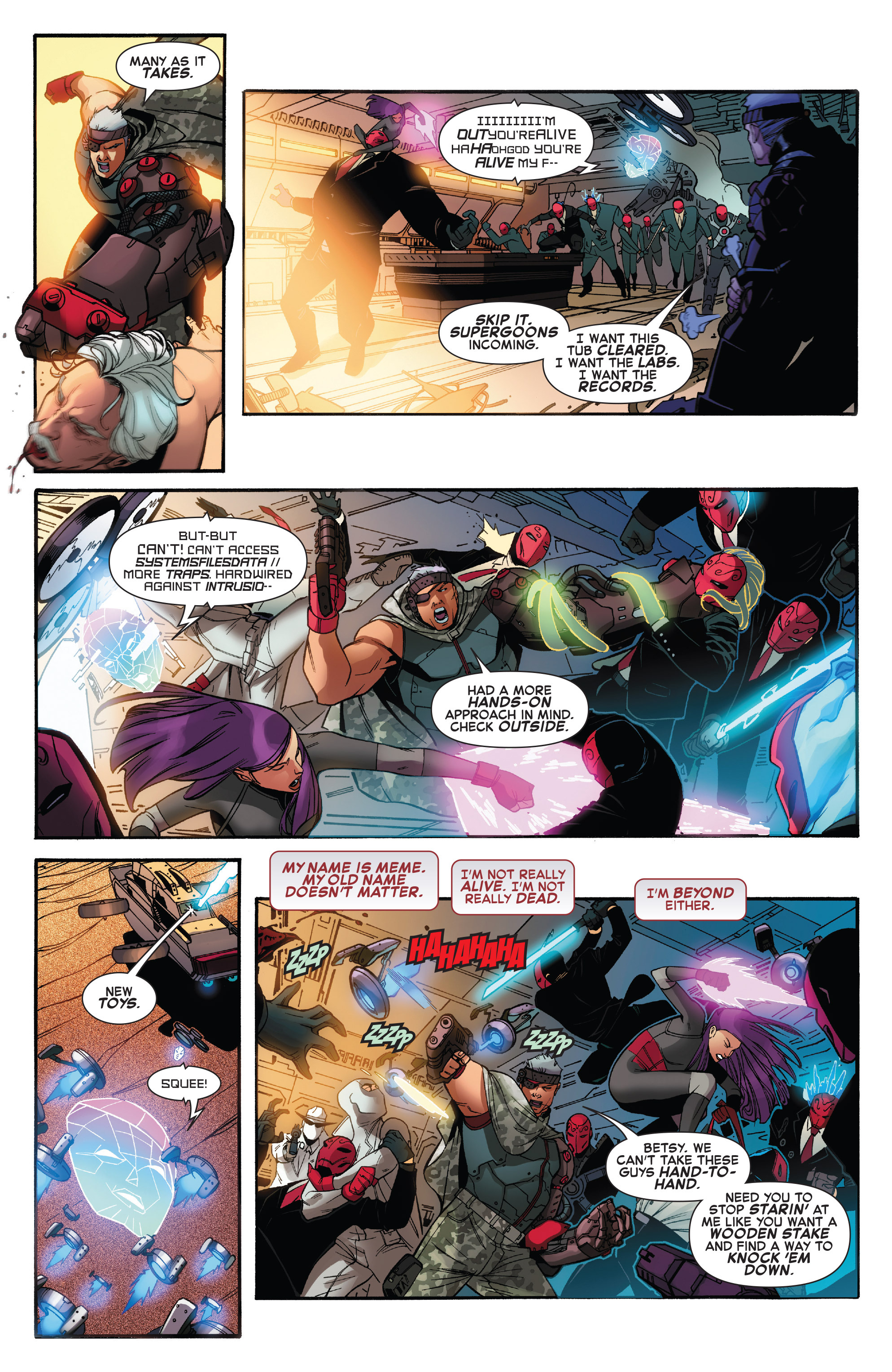 Read online X-Force (2014) comic -  Issue #6 - 13