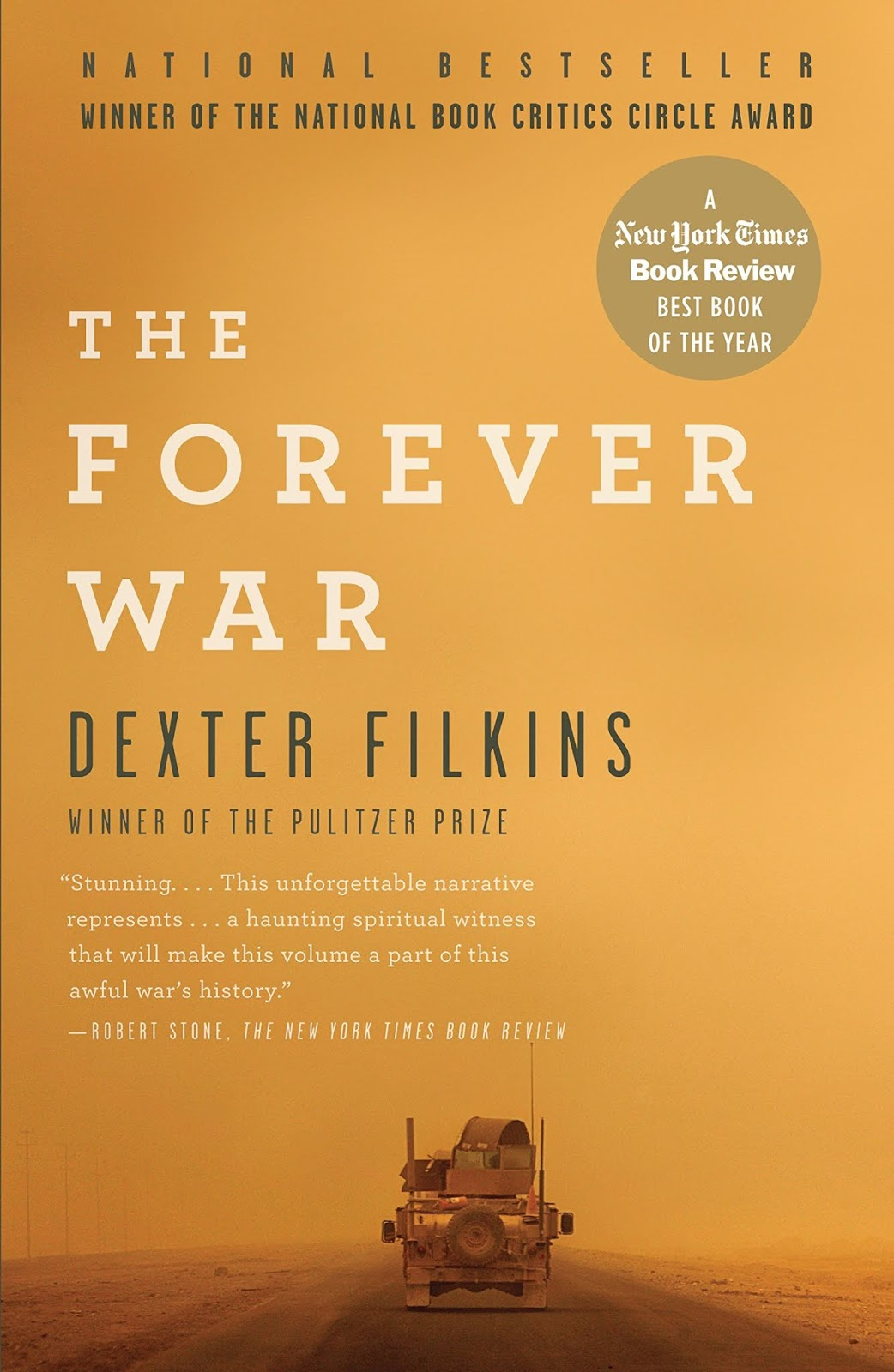 The cover of The Forever War.