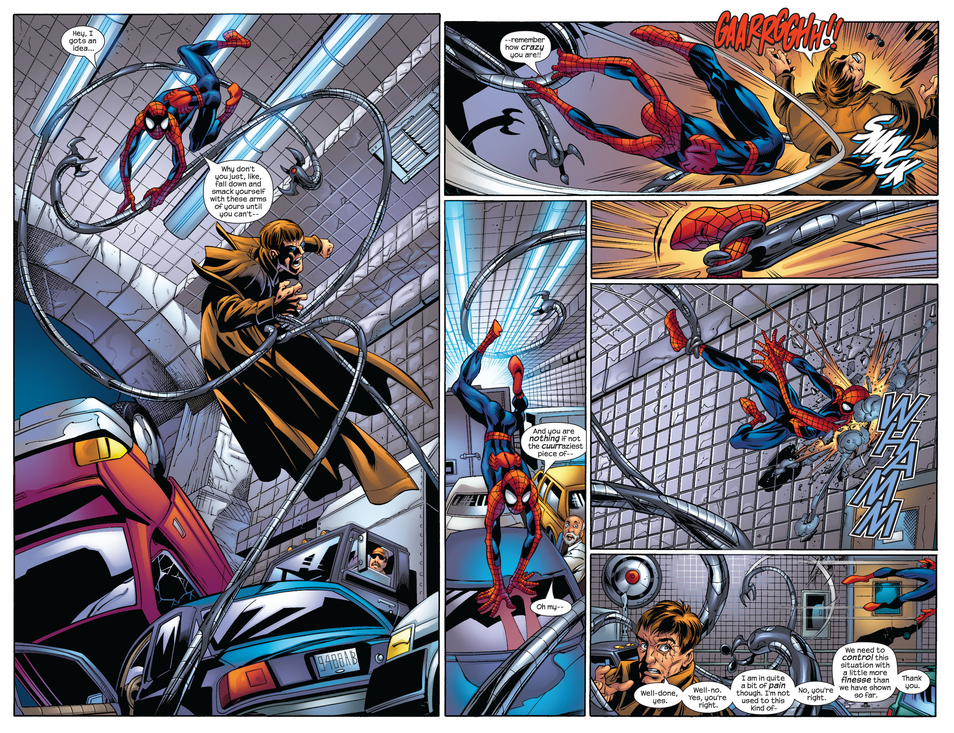 Read online Ultimate Spider-Man (2000) comic -  Issue #56 - 17
