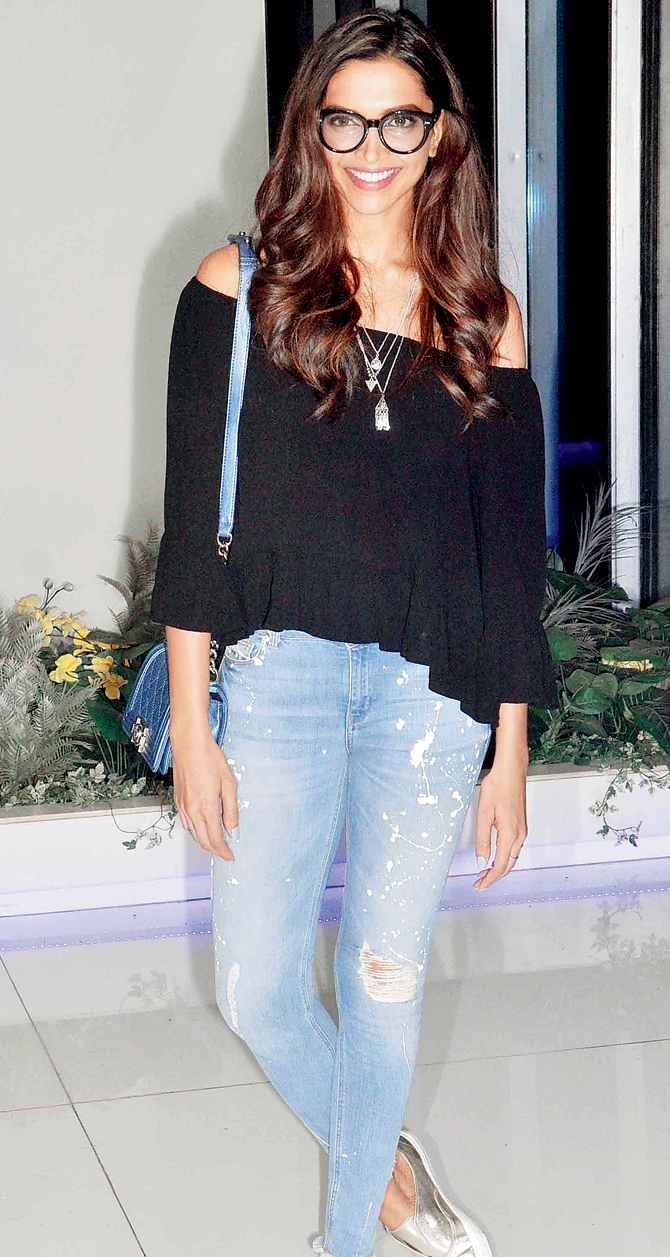 Deepika Padukone's trendy Tamasha looks - Chamber of beauty