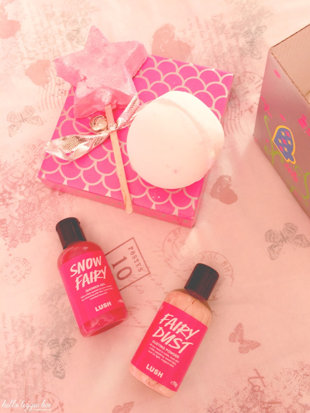 Snow fairy, lush review, christmas gift