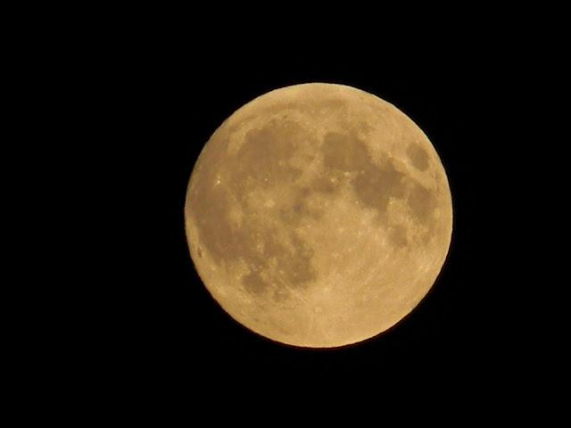 okrągły, satelita, niebo, astronomia
