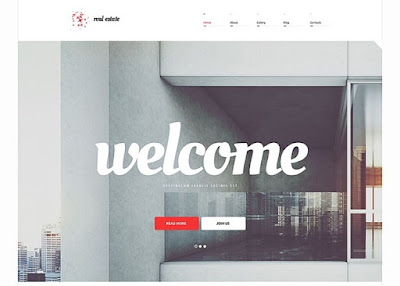 Welcome Home Responsive WordPress Theme