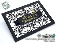 Stampin' Up! Snowflake Sentiment Card Idea. Order craft materials from Mitosu Crafts UK online shop