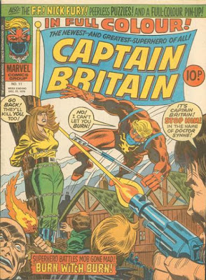 Marvel UK, Captain Britain #11