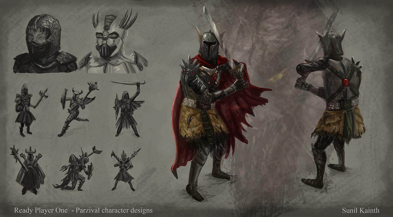 Sunil Kainth Sketchblog Ready Player One Concept Art