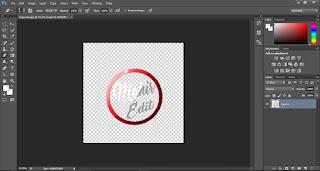 Cara membuat background logo tembus pandang di photoshop