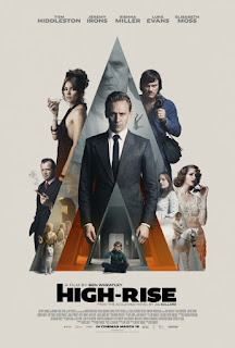 High-Rise movie poster Tom Hiddleston