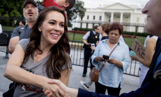 Alyssa Milano gets backlash for 'I'm trans' tweet