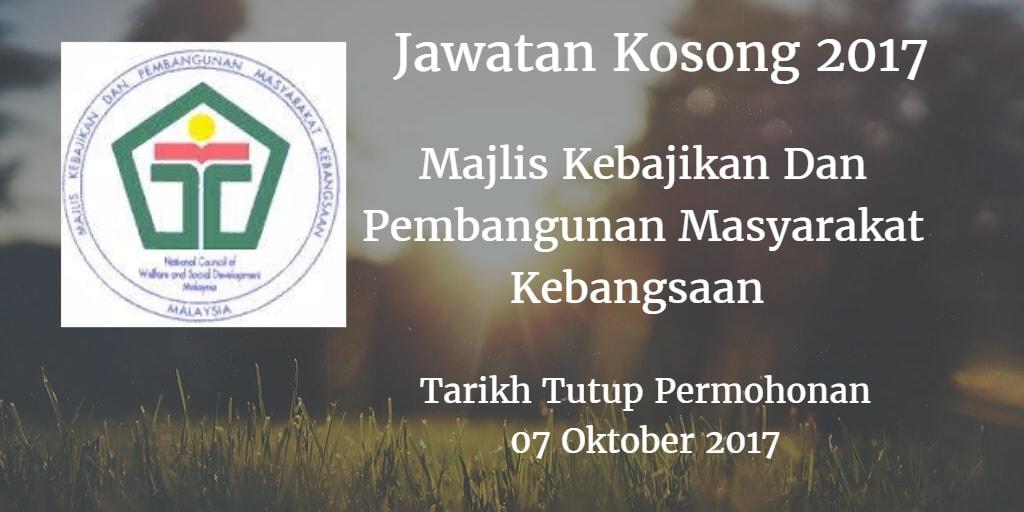 Jawatan Kosong MAKPEM 07 Oktober 2017