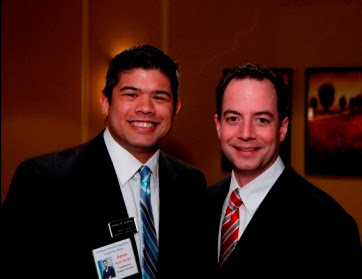 Aaron Del Mar and Reince Priebus