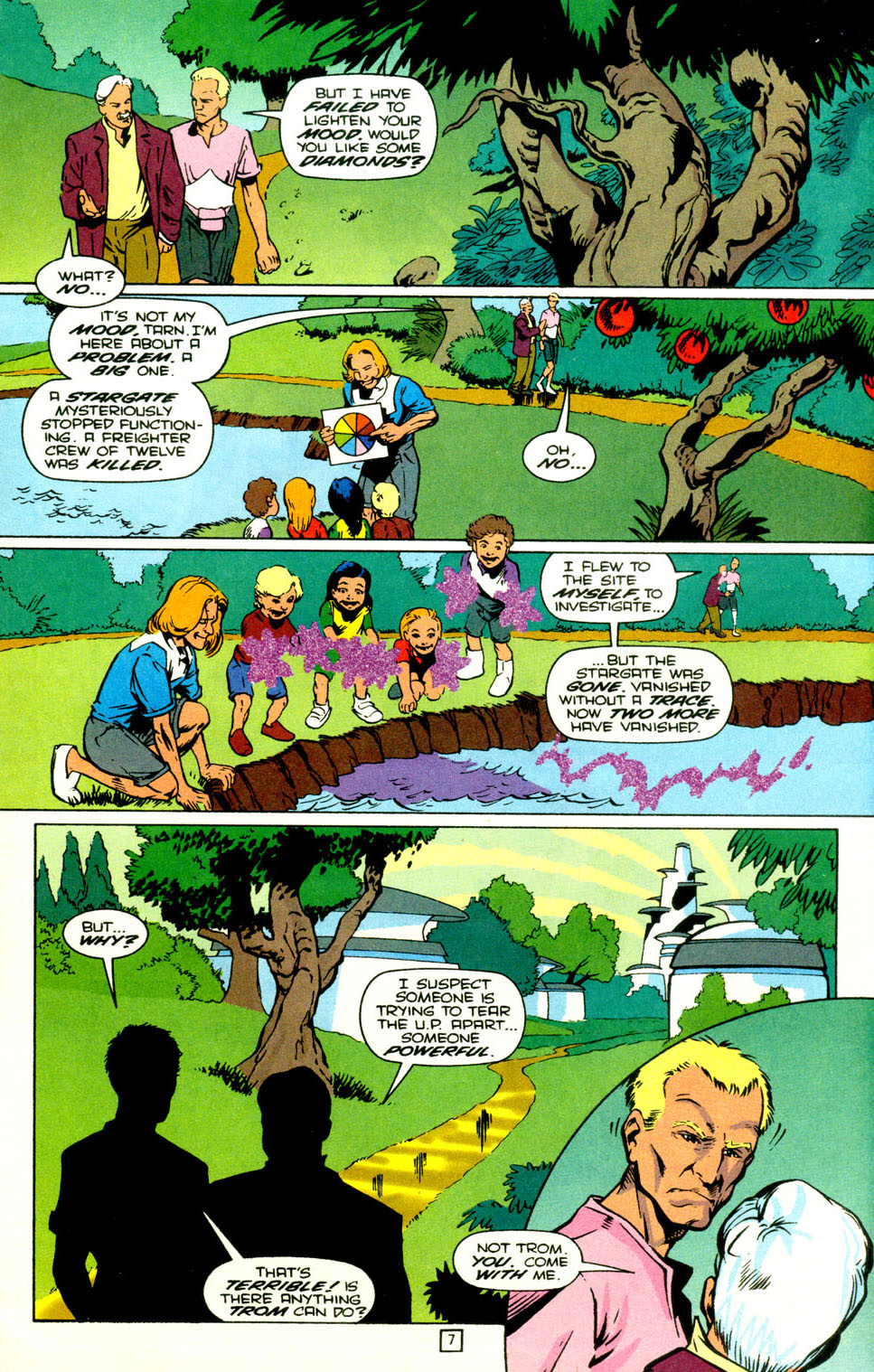 Legion of Super-Heroes (1989) 71 Page 8