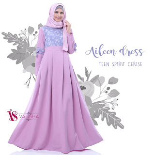 gamis valisha hijab terbaru