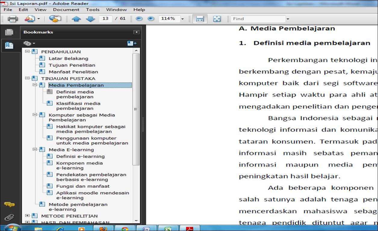 Cara Informasi Dalam Bentuk Pdf