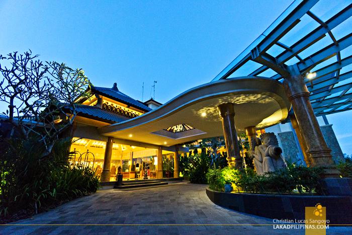 Seres Springs Resort Ubud Bali Facade