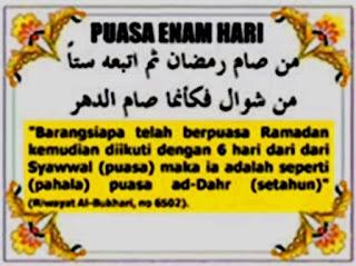 Berpuasa Syawal 6 Hari Setelah Rhamadhan, Tata Cara dan Keutamaanya