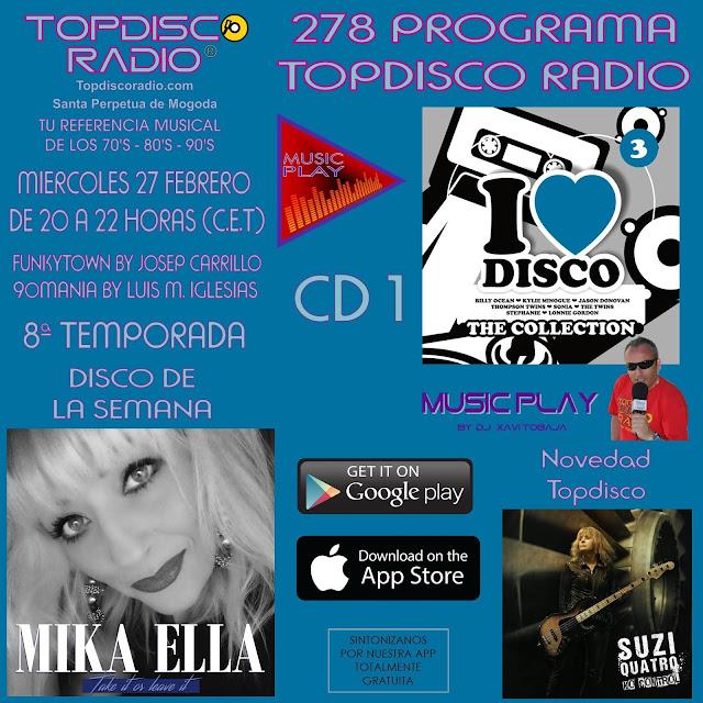278 Programa Topdisco Radio