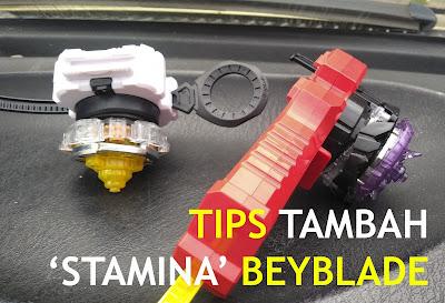 Tips Lamakan Putaran Beyblade