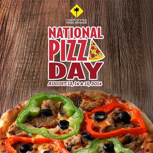FoodaBest: Free Pizza for National Pizza Day at California Pizza Kitchen Philippines