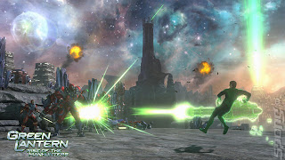 Green Lantern: Rise of the Manhunters (X-BOX360) 2011