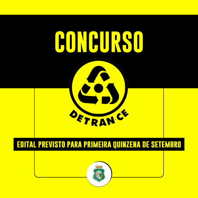 Edital para concurso do Dentran/CE sairá em setembro segundo governador Camilo Santana.