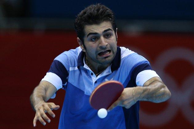 Wajahwajah Lucu Pemain Tenis Meja Olimpiade 2012