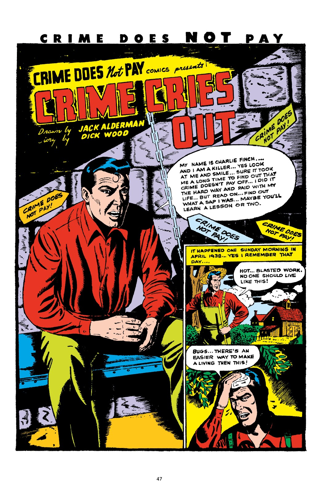 Read online Crime Does Not Pay Archives comic -  Issue # TPB 5 (Part 1) - 47