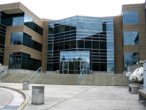 Building 17 On The Microsoft Redmond Campus In Redmond, Washington