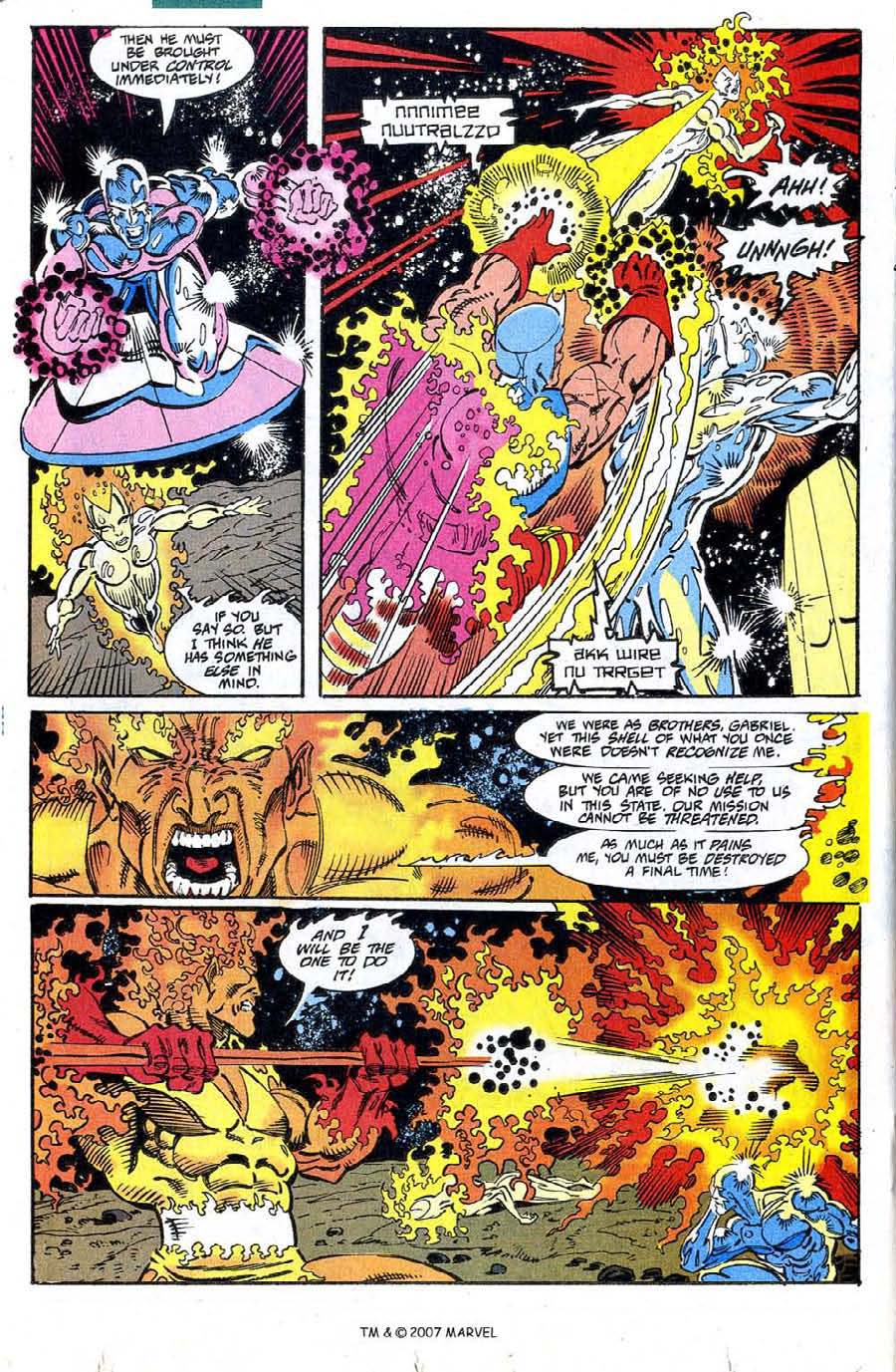 Read online Silver Surfer (1987) comic -  Issue #73 - 20