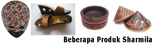 Produk Kerajinan Batik Kayu Sharmila Craft