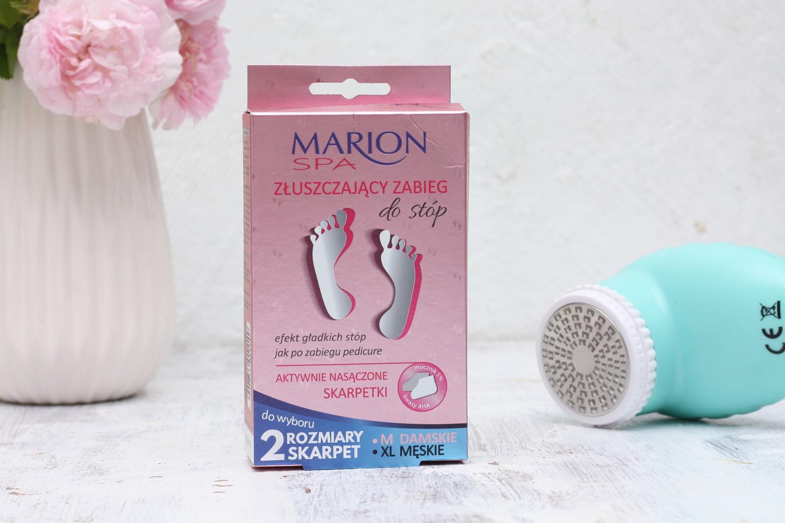 Marion SPA - złuszczający zabieg do stóp  - skarpetki złuszczające