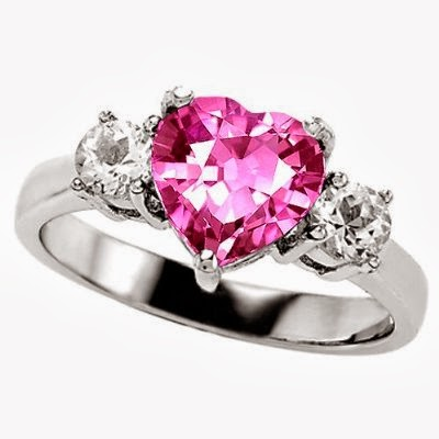 Engagement Ring : Pink Sapphire Engagement Rings 64