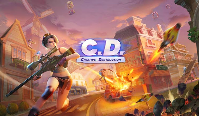 Creative Destruction - Game Battle Royale Android Terbaik Terbaru