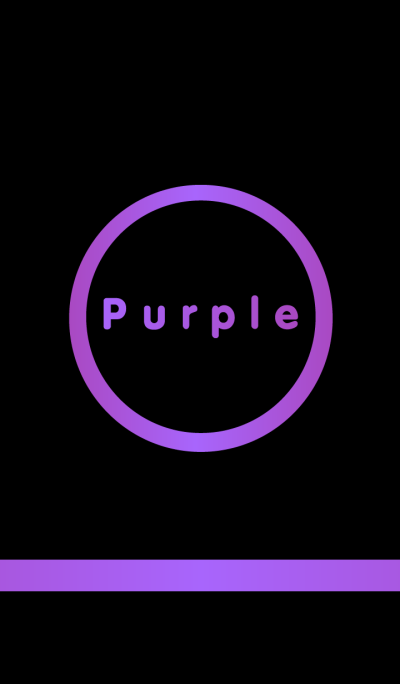Simple Purple in Black theme v2