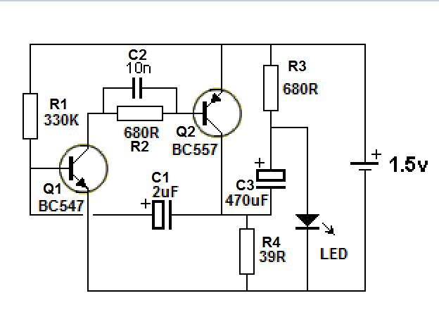 ac led circuit