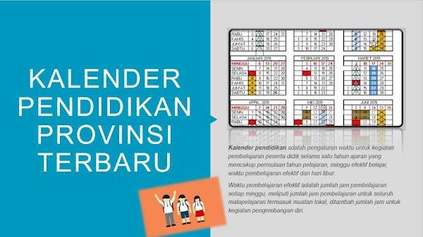 KALENDER PENDIDIKAN TAHUN AJARAN 2018-2019
