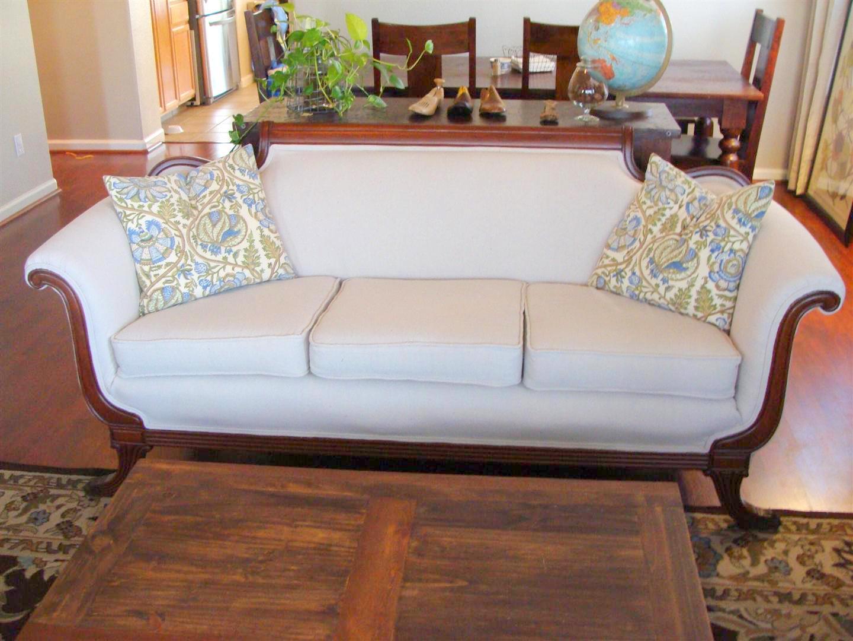 reupholster sofa nyc dark grey light walls antique  thesofa